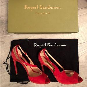 Rupert Sanderson Red Pumps